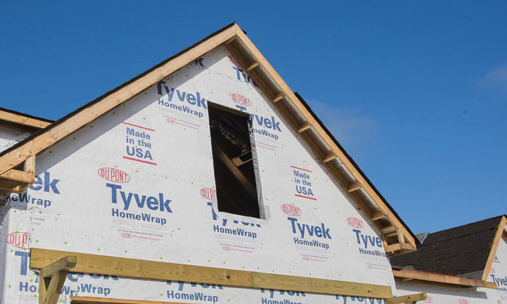 Energy saving exterior insulation